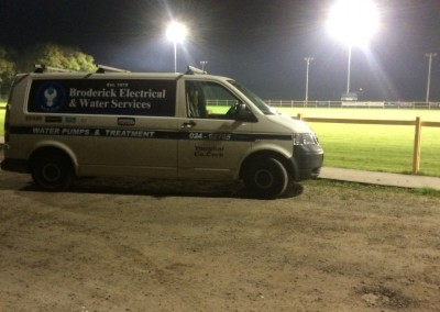 Broderick Electrical and Water Services Youghal RFC Sports Field Lighting