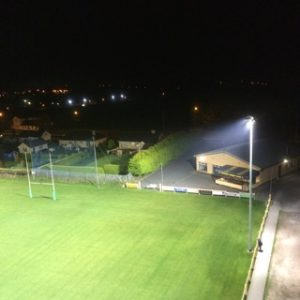 sports field floodlighting youghal rfc