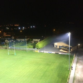 sports field lighting youghal rfc